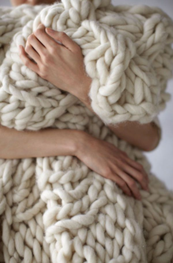 roving knit blanket